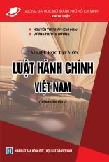 Luật hành chính Việt Nam
