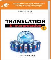Luyện dịch 1 (Translation & Interpretation 1)