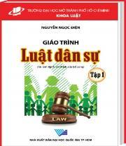 Luật dân sự Tập 1 - tái bản lần 7